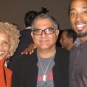 At Sages & Scientists Conference with Deepak Chopra...and mom!