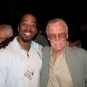 With Stan Lee, creator of Marvel Comics