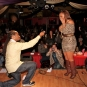 """Proposal Night on Stage. She said """"Yes""""!"""